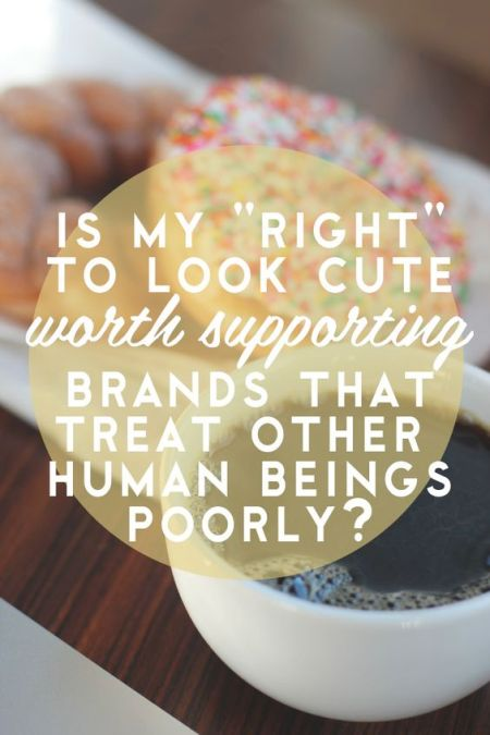 Ethical Fashion Quote
