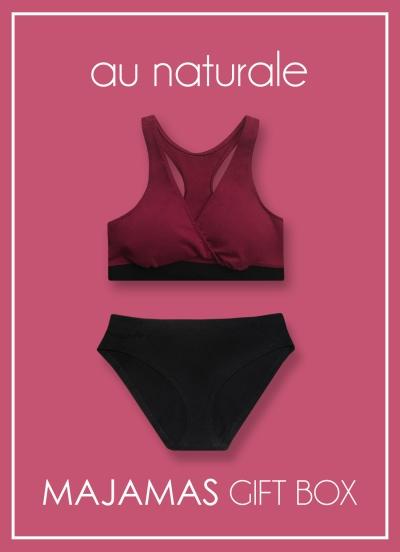 MAJAMAS Gift Box_Au Naturale Organic Bra Panty Fall 2017.jpg