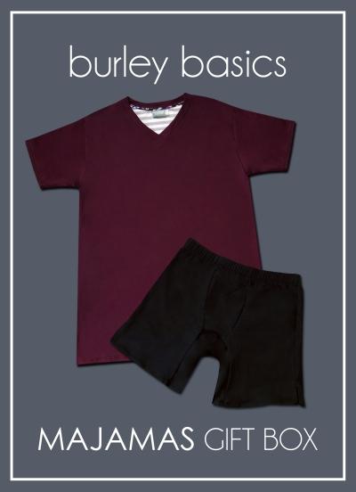 MAJAMAS Gift Box_Burley Basics for MEN Fall 2018